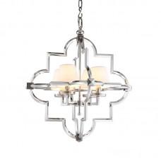 Подвесной светильник Eichholtz Mandeville 109661 белый+никель