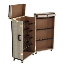 Полка для обуви Eichholtz Shoe Cabinet Manzoni 108867 коричневый