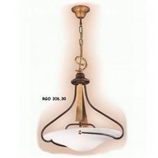Подвесной светильник FALB 306 (306/30 RGO) шампань+ржавчина, золото