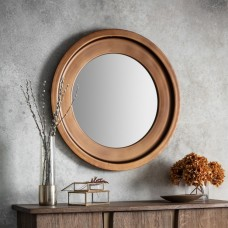 Круглое зеркало Gallery Direct Moorley (5055999217125) бронза