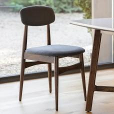 Два стула Барселона Gallery Direct Barcelona (5056272006580) коричневый+серый