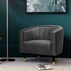 Кресло Gallery Direct Serrano (5055999253505) серый