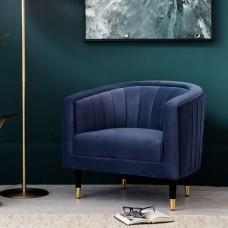Кресло Gallery Direct Serrano (5055999253482) синий