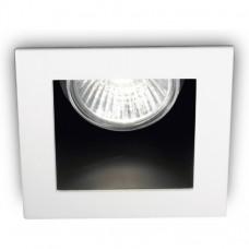 Врезной светильник Ideallux Funky (83230) белый
