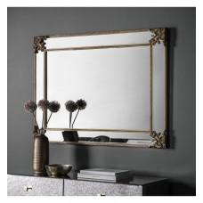 Gallery Direct Wilson Mirror Rustic Gold