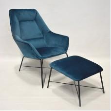 Кресло с подставкой для ног RGE Адель